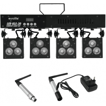 EUROLITE Set LED KLS-30 + transmitter + receiver