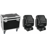 EUROLITE Set 2x LED TMH-X25 Moving-Head + Case