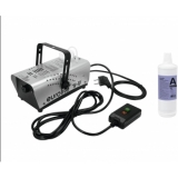 EUROLITE Set N-10 silver + A2D Action smoke fluid 1l