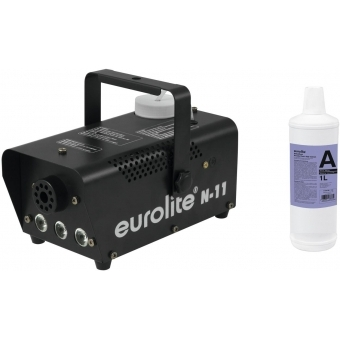 EUROLITE Set N-11 LED Hybrid amber fog machine + A2D Action smok