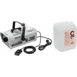 EUROLITE Set N-200 Smoke machine + C2D Smoke fluid 5l