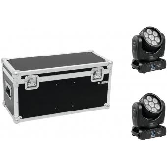 EUROLITE Set 2x LED TMH-15 + Case