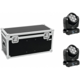 EUROLITE Set 2x LED TMH-15 + Case