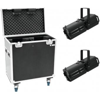 EUROLITE Set 2x LED PFE-120 3000K + Case