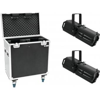 EUROLITE Set 2x LED PFE-100 RGBW + Case