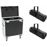 EUROLITE Set 2x LED PFE-100 RGBW + Case