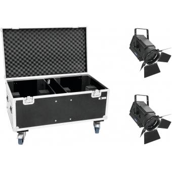EUROLITE Set 2x LED THA-250F + Case