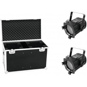 EUROLITE Set 2x LED THA-50F + Case