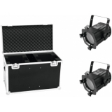 EUROLITE Set 2x LED THA-50F + Case