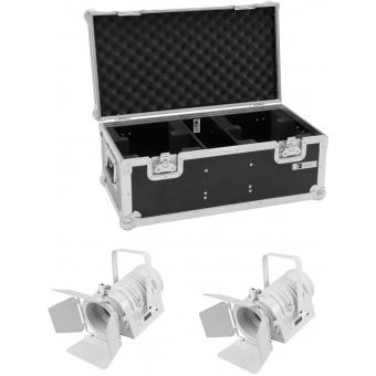 EUROLITE Set 2x LED THA-40PC wh + Case
