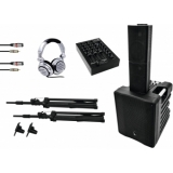 OMNITRONIC Set ACS-510 + PM-311P + SHP-2000 MK2 + Basecap