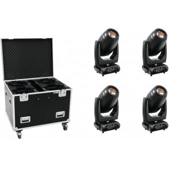 FUTURELIGHT Set 4x PLB-280 + Case