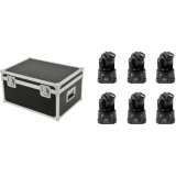 EUROLITE Set 6x LED TMH-6 + Case