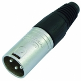 NEUTRIK XLR plug 3pin NC3MX