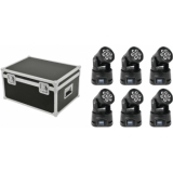 EUROLITE Set 6x LED TMH-9 + Case