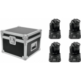 EUROLITE Set 4x LED TMH-8 + Case