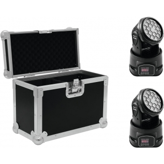 EUROLITE Set 2x LED TMH-7 + Case