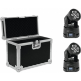 EUROLITE Set 2x LED TMH-9 + Case