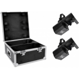 EUROLITE Set 2x LED TSL-200 Scan COB + Case