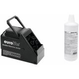 EUROLITE Set B-60 Bubble machine + bubble fluid 1l