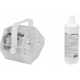 EUROLITE Set LED B-70 Bubble machine + bubble fluid 1l