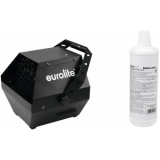 EUROLITE Set B-90 Bubble machine black + bubble fluid 1l