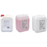 EUROLITE Set 3x UV Bubble fluid 5l yellow + red + blue