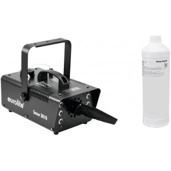 EUROLITE Set Snow 3010 LED Snow machine + Snow fluid 1l