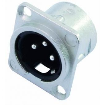 NEUTRIK XLR mounting plug 3pin NC3MDL-1