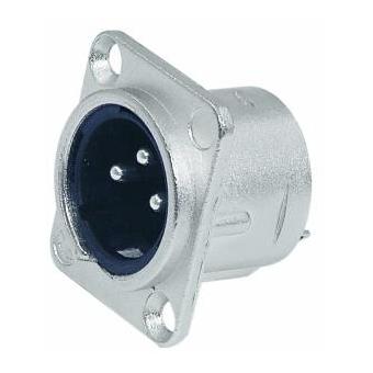 NEUTRIK XLR mounting plug 3pin NC3MDL-1 #2