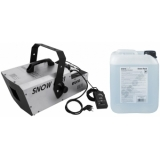 EUROLITE Set Snow 6001 Snow machine + Snow fluid 1l