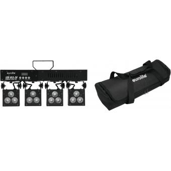EUROLITE Set LED KLS-30 + SB-205 Soft Bag