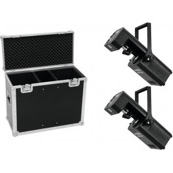 EUROLITE Set 2x LED TSL-750 Scan + Case