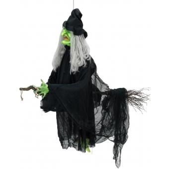 EUROPALMS Halloween Flying Witch 140cm #1