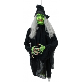 EUROPALMS Halloween Flying Witch 140cm #2