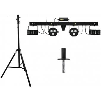 EUROLITE Set LED KLS Laser Bar FX + STV-40-WOT Aluminium stand