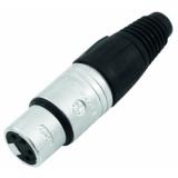 NEUTRIK XLR socket 4pin NC4FX