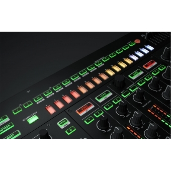 Consola DJ Roland DJ-808 +CADOU U8304 UDG CREATOR CONTROLLER HARDCASE 2XL BLACK #7