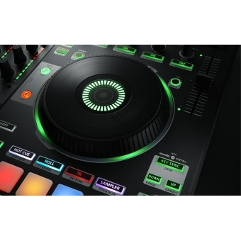 Consola DJ Roland DJ-808 +CADOU U8304 UDG CREATOR CONTROLLER HARDCASE 2XL BLACK #9