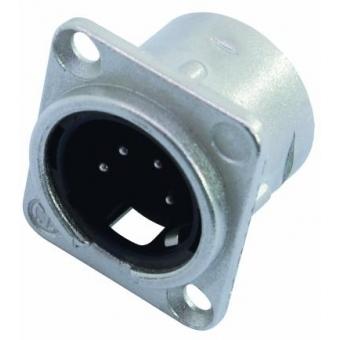 NEUTRIK XLR mounting plug 4pin NC4MDL-1