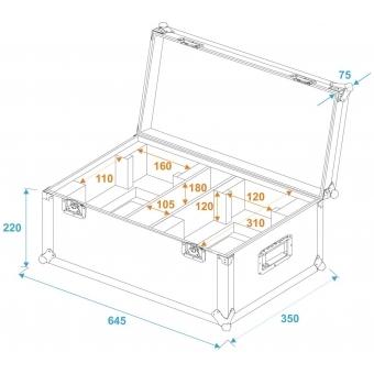 ROADINGER Flightcase 2x THA-40 PC #5