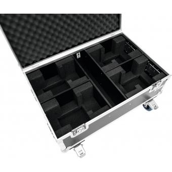 ROADINGER Flightcase 4x THA-40 PC with wheels #4