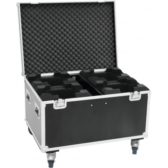ROADINGER Flightcase 4x TMH-X5 with wheels #3