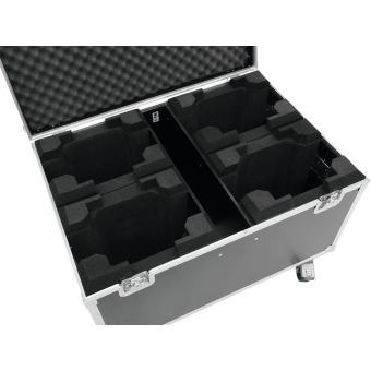 ROADINGER Flightcase 4x TMH-X5 with wheels #4