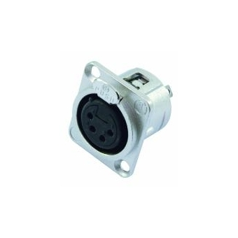 NEUTRIK XLR mounting socket 4pin NC4FDL-1 #2