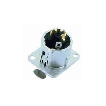 NEUTRIK XLR mounting socket 4pin NC4FDL-1 #3