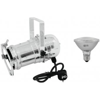 EUROLITE Set PAR-30 Spot sil + PAR-30 230V SMD 11W E-27 LED 3000