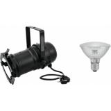 EUROLITE Set PAR-30 Spot bk + PAR-30 230V SMD 11W E-27 LED 6500K