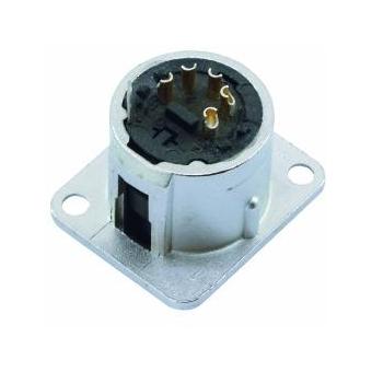 NEUTRIK XLR mounting plug 5pin NC5MDL-1 #2