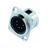 NEUTRIK XLR mounting plug 5pin NC5MDL-1